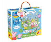 Lisciani Giochi Świnka Peppa Miękkie puzzle - 501954 - zdjęcie 1