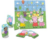Lisciani Giochi Świnka Peppa Miękkie puzzle - 501954 - zdjęcie 2