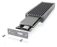 ICY BOX Obudowa do dysku M.2 NVMe (USB-C, M-Key) - 499605 - zdjęcie 3