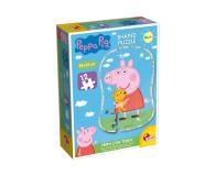 Lisciani Giochi Świnka Peppa puzzle kształt Peppa i Teddy - 502167 - zdjęcie 1