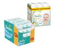 Pampers Premium Care 4 Maxi 8-14kg 168szt + Chusteczki - 499778 - zdjęcie 1