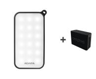 ADATA Power Bank D8000 LED + Głośnik Muvo 1C (czarny) - 500102 - zdjęcie 1