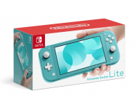 Nintendo Switch Lite (Morski) + Etui + Szkło - 520187 - zdjęcie 3