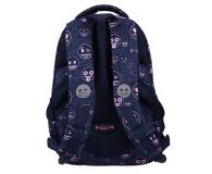 Majewski Emoji Plecak 3-komorowy Pink BP-26 - 506406 - zdjęcie 3