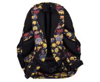 Majewski Emoji Plecak 4-komorowy Yellow II BP-04 - 506401 - zdjęcie 3