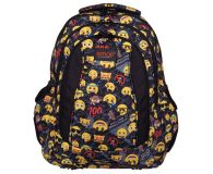 Majewski Emoji Plecak 4-komorowy Yellow II BP-04 - 506401 - zdjęcie 1