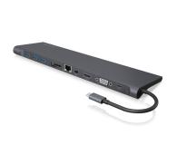 ICY BOX USB-C - USB-C, VGA, HDMI, DisplayPort, PD, 60W - 505347 - zdjęcie 1
