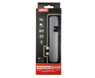 Unitek USB-C - USB, HDMI, RJ-45, Thunderbolt3 - 509646 - zdjęcie 3