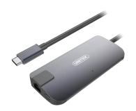 Unitek USB-C - PD, HDMI, RJ-45, USB, USB-C - 509739 - zdjęcie 1