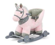 MILLY MALLY Koń na biegunach Polly różowy - 460876 - zdjęcie 1