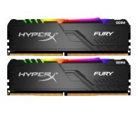 HyperX 16GB (2x8GB) 2666MHz CL16 Fury RGB - 507848 - zdjęcie 1