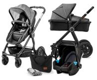 Kinderkraft Veo 3w1 Black/Grey - 486770 - zdjęcie 1