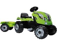 Smoby Traktor na pedały XL z przyczepą zielony  - 349282 - zdjęcie 1