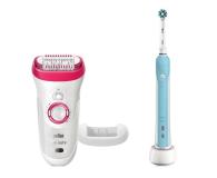 Braun Silk-épil 9-521 + Oral-B Pro 500 - 458131 - zdjęcie 1