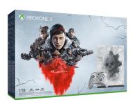 Microsoft Xbox One X 1TB Limited Ed. + GoW 5 - 512344 - zdjęcie 1