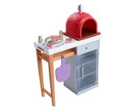 Barbie Mebelki ogrodowe Zestaw Do Pizzy - 471425 - zdjęcie 1