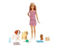 Barbie  Opiekunka piesków zestaw z lalką - 471305 - zdjęcie 1