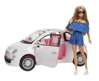 Barbie Auto Fiat 500 z Lalką - 483528 - zdjęcie 1