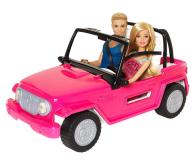 Barbie Plażowy samochód terenowy + Barbie i Ken - 512702 - zdjęcie 1
