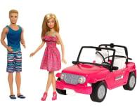 Barbie Plażowy samochód terenowy + Barbie i Ken - 512702 - zdjęcie 2