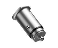 Baseus Ładowarka samochodowa 2x USB, QC 3.0 (srebrny) - 509281 - zdjęcie 4