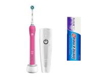Oral-B Pro 2500 Pink + Pasta do zębów - 474592 - zdjęcie 1