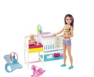 Barbie Zestaw Opieka Nad Maluszkiem + Lalka - 487228 - zdjęcie 1