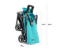 Kinderkraft Mini Dot Turquoise - 513890 - zdjęcie 8