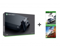 Microsoft Xbox One X 1TB+ FORZA H4 + Motosport 7 - 436905 - zdjęcie 1