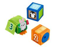Fisher-Price Kolorowe zwierzątka klocki sensoryczne - 540748 - zdjęcie 1