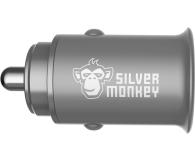 Silver Monkey Ładowarka samochodowa 2x USB, 24W - 536250 - zdjęcie 3