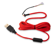 Glorious PC Gaming Race Ascended Cable V2 - Crimson Red - 595439 - zdjęcie 1