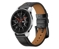 Tech-Protect Pasek Leather do smartwatchy czarny