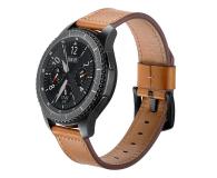 Tech-Protect Pasek Skórzany Herms do smartwatchy brązowy - 605283 - zdjęcie 1