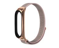 Tech-Protect Pasek Nylon do Xiaomi Mi Band 5 rose gold - 605547 - zdjęcie 2