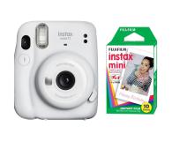 Fujifilm Instax Mini 11 biały + wkłady (10 zdjęć) - 606747 - zdjęcie 1