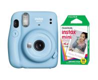 Fujifilm Instax Mini 11 niebieski + wkłady (10 zdjęć) - 606753 - zdjęcie 1