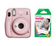 Fujifilm Instax Mini 11 różowy + wkłady (10 zdjęć) - 606743 - zdjęcie 1