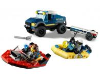 LEGO City Transport łodzi policji specjalnej - 1011778 - zdjęcie 4