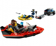 LEGO City Transport łodzi policji specjalnej - 1011778 - zdjęcie 2