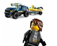 LEGO City Transport łodzi policji specjalnej - 1011778 - zdjęcie 3