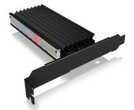 ICY BOX Kontroler PCI-E - M.2 NVMe - ARGB - 601777 - zdjęcie 1