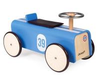 Janod Drewniany jeździk retro Bolid wyścigowy - 1011187 - zdjęcie 1
