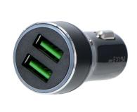 Silver Monkey Ładowarka samochodowa 2x USB, 3A, QC 3.0 - 487141 - zdjęcie 2