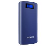 ADATA Power Bank AP20000D 20000mAh (2.1A, granatowy) - 613585 - zdjęcie 2