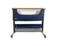 Lionelo Timon 3w1 Blue Navy łóżeczko dostawne + materac - 1012032 - zdjęcie 1