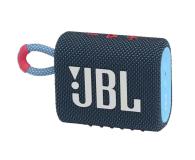 JBL GO 3 Niebiesko-różowy - 599266 - zdjęcie 1