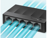 TP-Link 5p LS1005G (5x10/100/1000Mbit) - 519238 - zdjęcie 3