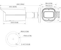 Dahua Lite HFW2531T 2,7-13,5mm 5MP/IR60/IP67/PoE+/IVS - 555104 - zdjęcie 2
