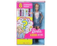 Barbie Lalka Zestaw niespodzianka ubranka - 564642 - zdjęcie 1